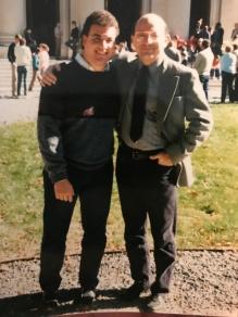 Dad & I at HC 1988 ?